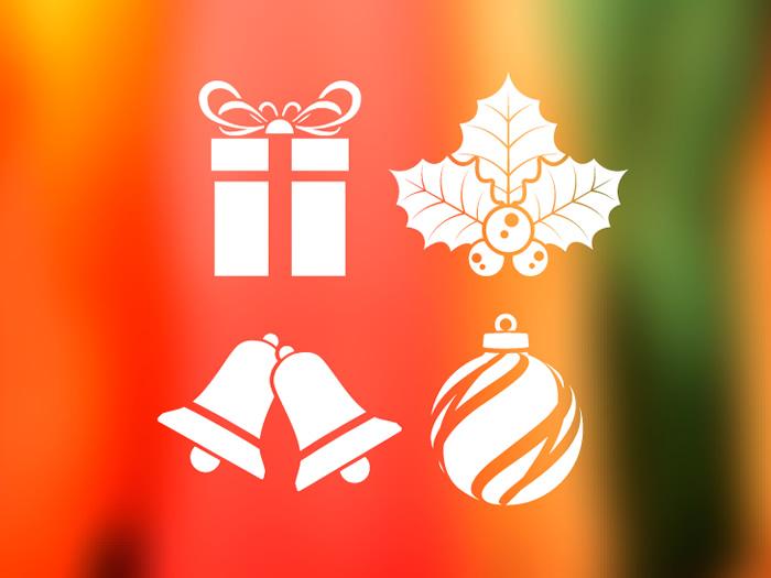 Decoraci n navide a con vinilos adhesivos acebo regalo - Decorativos de navidad ...