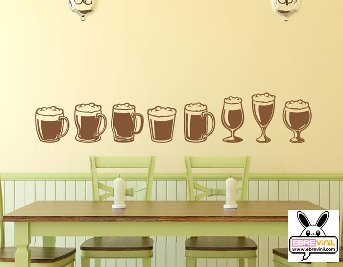 Colecci n de vinilos decorativos especial bares y for Vinilos para bares