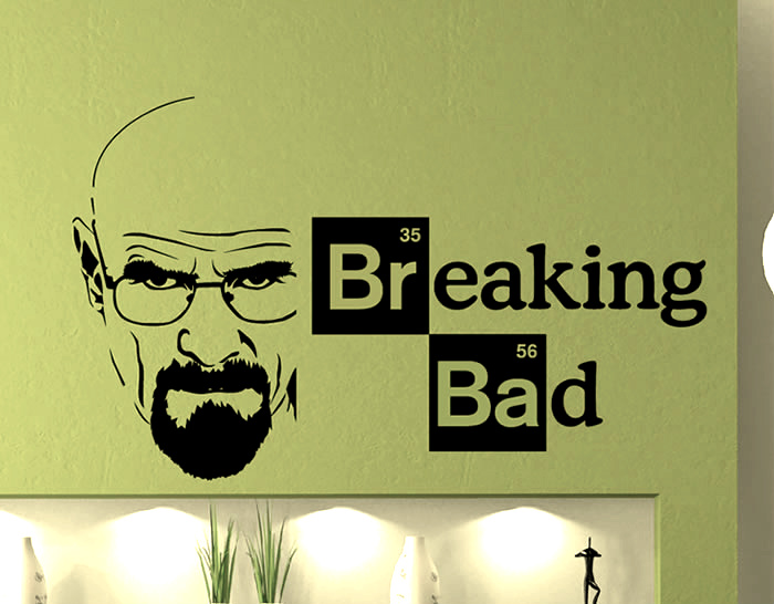Paredes con vinilos decorativos breaking bad 03210 - Vinilos decorativos para paredes exteriores ...