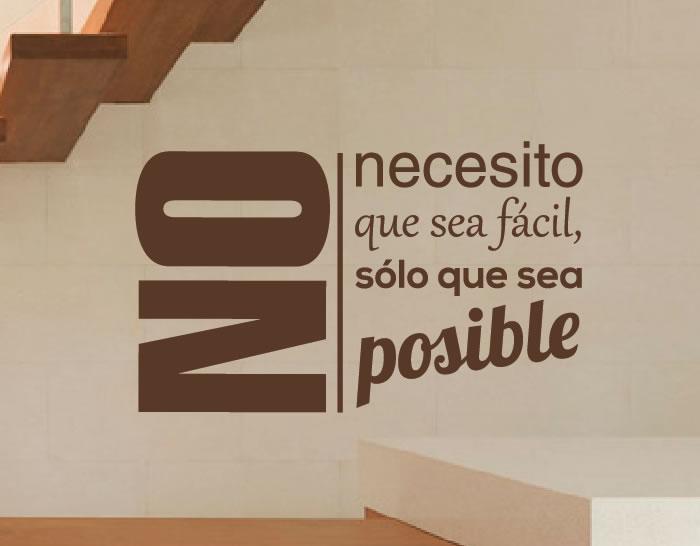 Vinilo de pared sobre motivaci n 02731 tienda online de for Vinilos pared frases