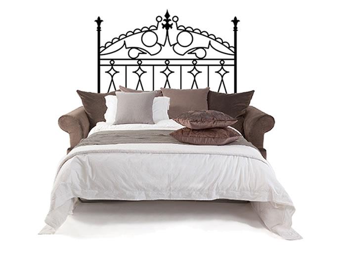 Cabeceros de cama en vinilo de corte barrotes for Vinilos el corte ingles