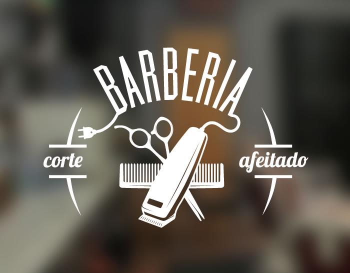 Vinilo para barber as decoraci n vidrieras escaparates y - Vinilos para vidrieras ...