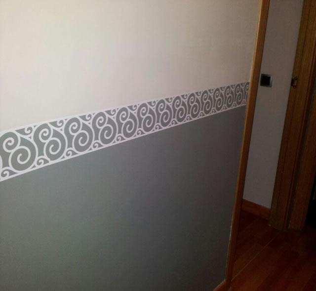 Decoraci n del hogar con cenefas de vinilo adhesivo 04333 - Cenefas para espejos ...