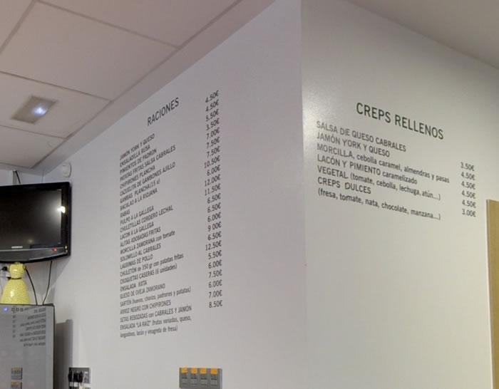Tienda online de vinilos decorativos stickers wall art - Ideas para decorar un bar de tapas ...