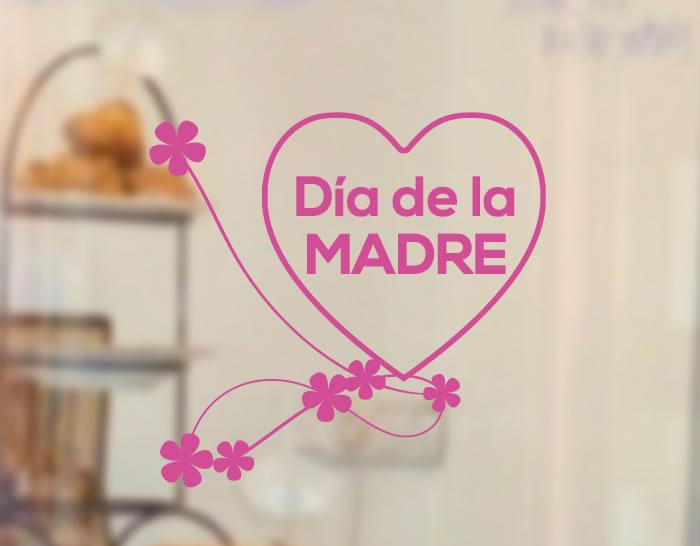 Escaparates tiendas para el d a de la madre con vinilos - Decoracion para el dia de la madre ...