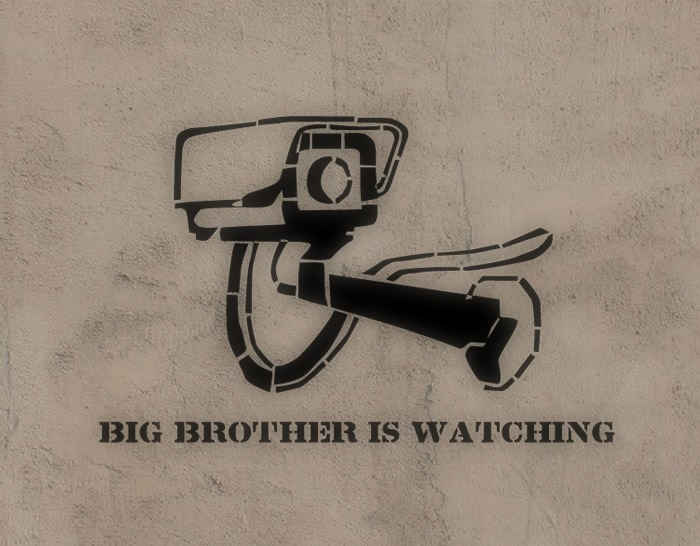 "Vinilo Adhesivo ""Big Brother Is Watching"" 02725"