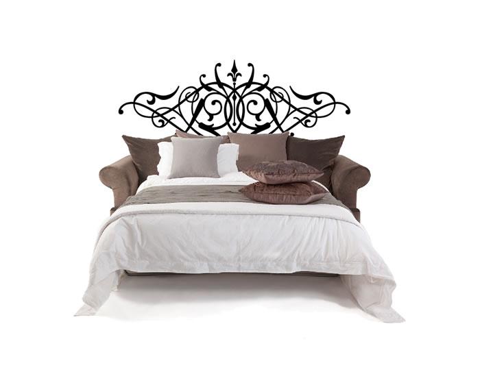 Vinilos decorativos dormitorios cabeceros de cama 03561 for Vinilos cabeceros