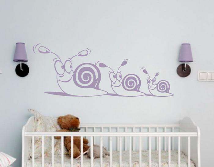 vinilo beb s para decoraci n infantil todos en fila