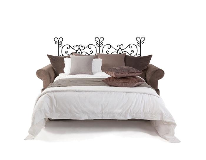 Cabecero de cama en vinilo adhesivo especial dormitorios - Vinilos cabecero cama ...