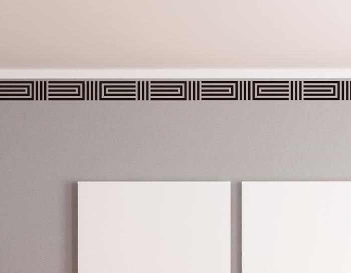 Cenefas en vinilo para la decoraci n del interiores 04327 for Vinilos pared valencia