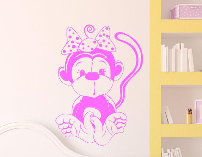 Vinilos infantiles para la decoraci n de paredes en for Vinilos infantiles para ninas