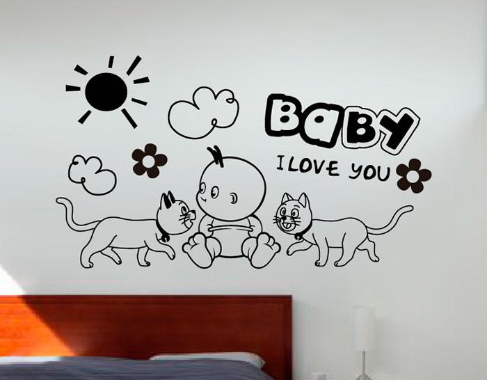 vinilos infantiles nia tienda online de vinilos decorativos stickers wall art decoracin with decoracion con vinilos infantiles