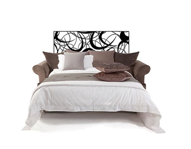 vinilos dormitorios cabecero de cama en vinilo adhesivo